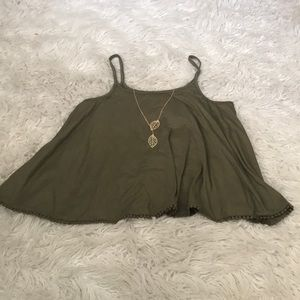 Hot Kiss Tops - 🔥olive Green Top🔥🔥🔥
